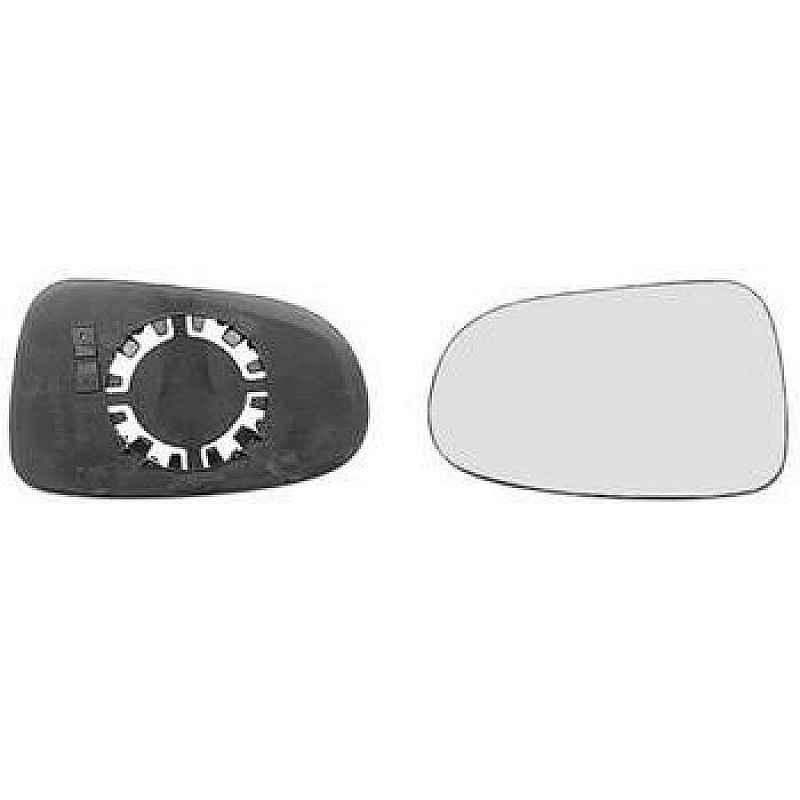 Стъкло за огледало ляво изпъкнало с подгрев за SEAT ALHAMBRA 1995-2000, FORD GALAXY 1995-2006, VOLKSWAGEN SHARAN 1995-2000