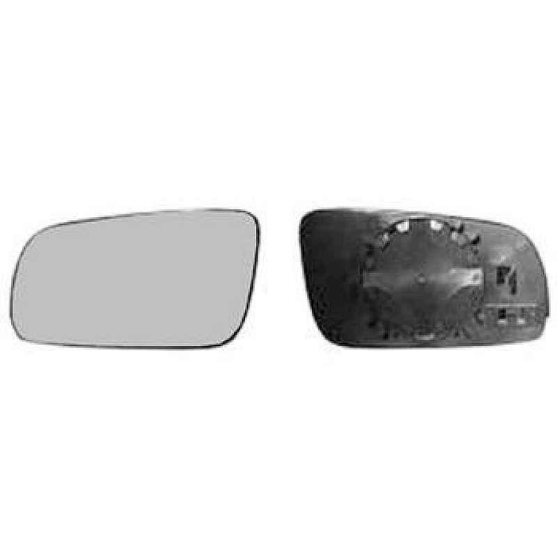 Стъкло за огледало ляво асферично с подгрев след 1998 за SEAT ALHAMBRA 1995-2010, VOLKSWAGEN SHARAN 1995-2010