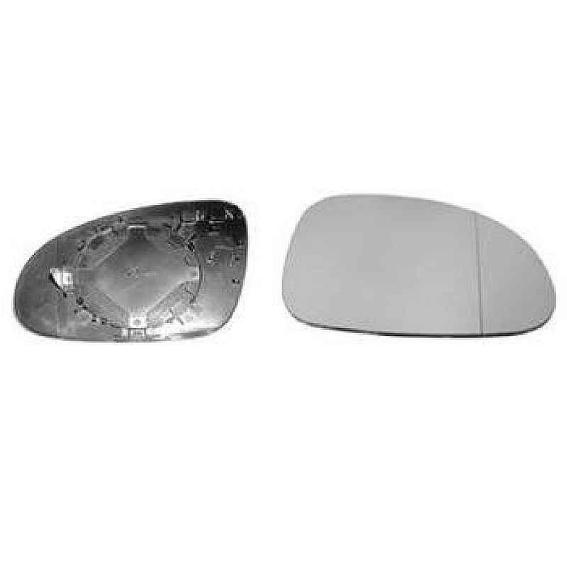 Стъкло за огледало дясно изпъкнало с подгрев за VOLKSWAGEN PASSAT 2005-2010