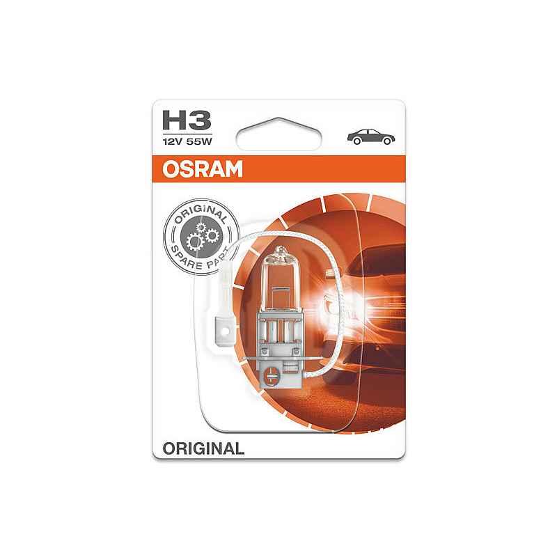 Крушка OSRAM Н3 ORIGINAL 1 бр. Блистер
